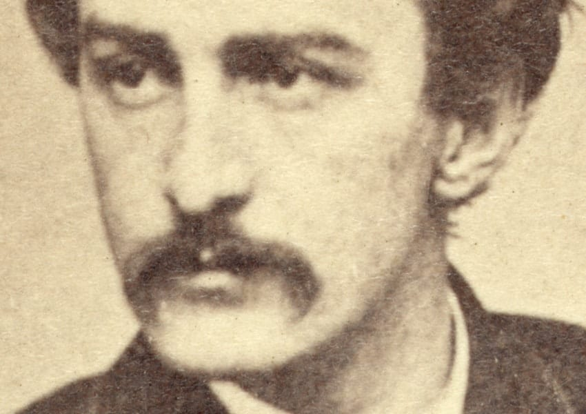 Photo of John Wilkes Booth
