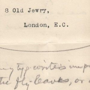 """Mark Twain's Mockup of Title Page and Dedication of """"More Tramps Abroad,""""Note About """"Innocents Abroad"""""""