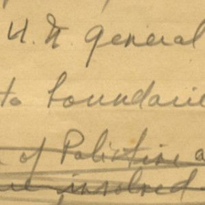 "Harry Truman Manuscript on the ""Settlement of the Palestine Question"""