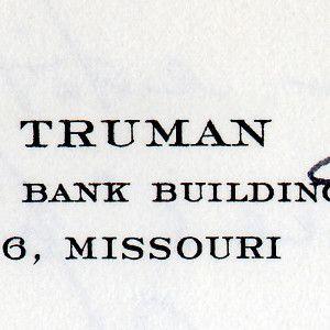 Truman on the Press