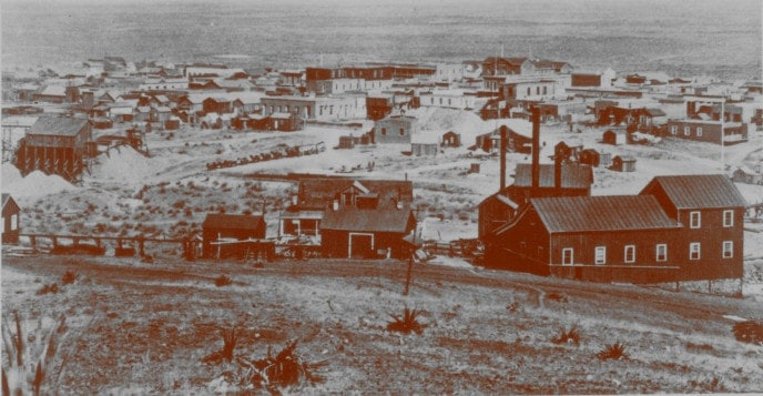 Tombstone, Arizona, circa 1881