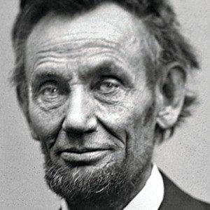Abraham Lincoln by Gardner, February 1865. Source: Library of Congress.