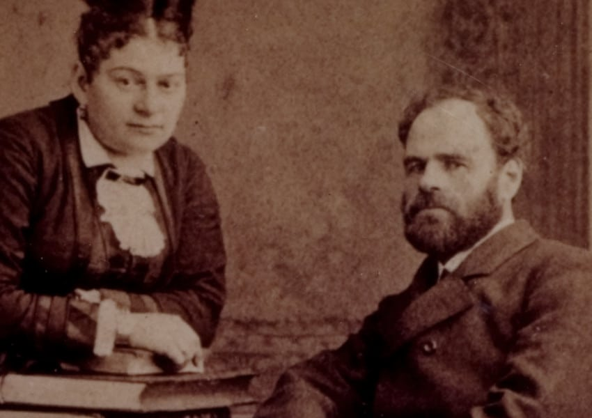 Dankmar and Dila Adler, c. 1890