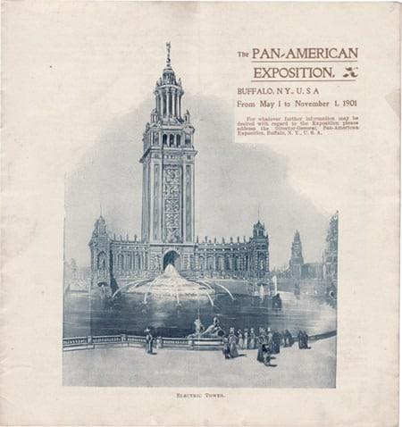 Pan-American Exposition souvenir booklet