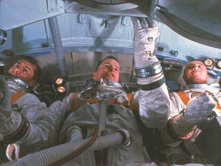 Apollo I astronauts Roger Chaffee, Ed White II and Gus Grissom