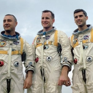 The Anniversary of the Funeral of the Apollo I Astronauts