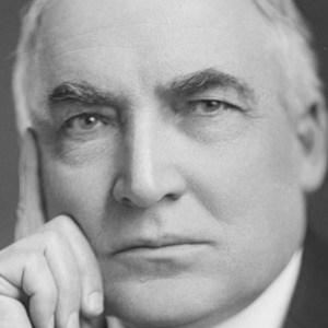 Warren G. Harding, by Harris & Ewing. Circa 1920. Library of Congress.