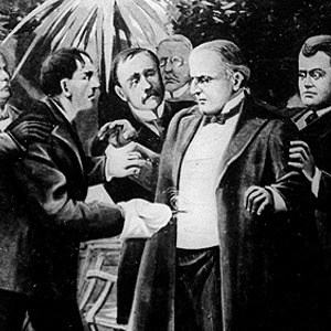 Assassination of William McKinley, Sept. 6th, 1901. c.1905. Library of Congress.