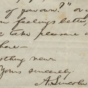 """Abraham Lincoln Arranges for the Anonymous Publication of His Famous Poem """"My Childhood Home I See Again"""""""
