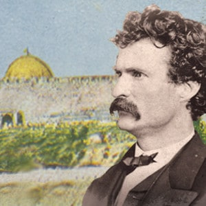 Mark Twain and the Holy Land